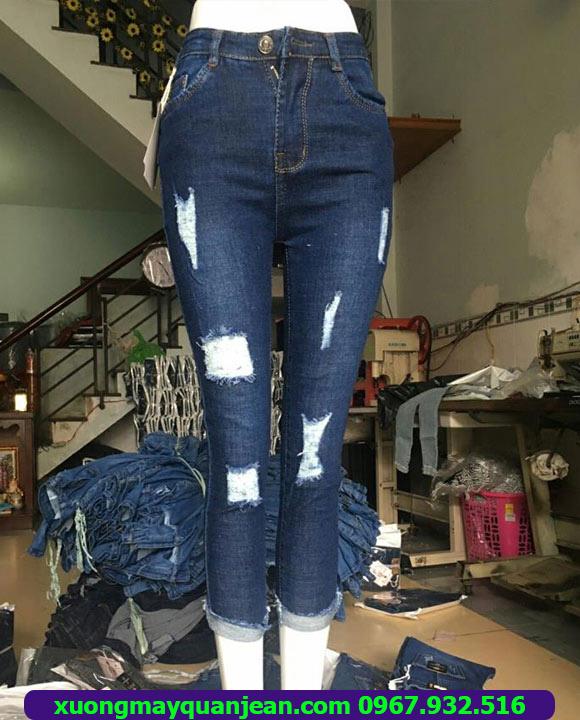 Xưởng may quần Jean nữ