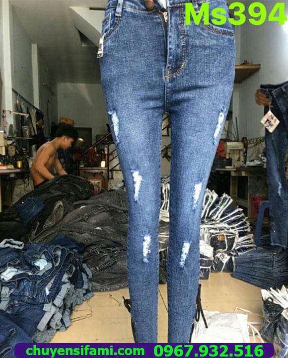 Mua quần jean sỉ giá rẻ tại Ninh Thuận