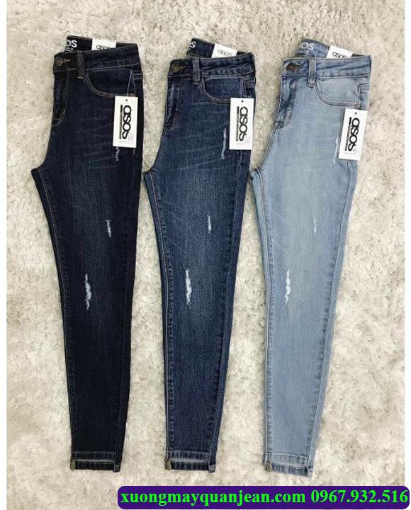 Xưởng may quần jean giá rẻ tại quận tân phú Hồ Chí Minh